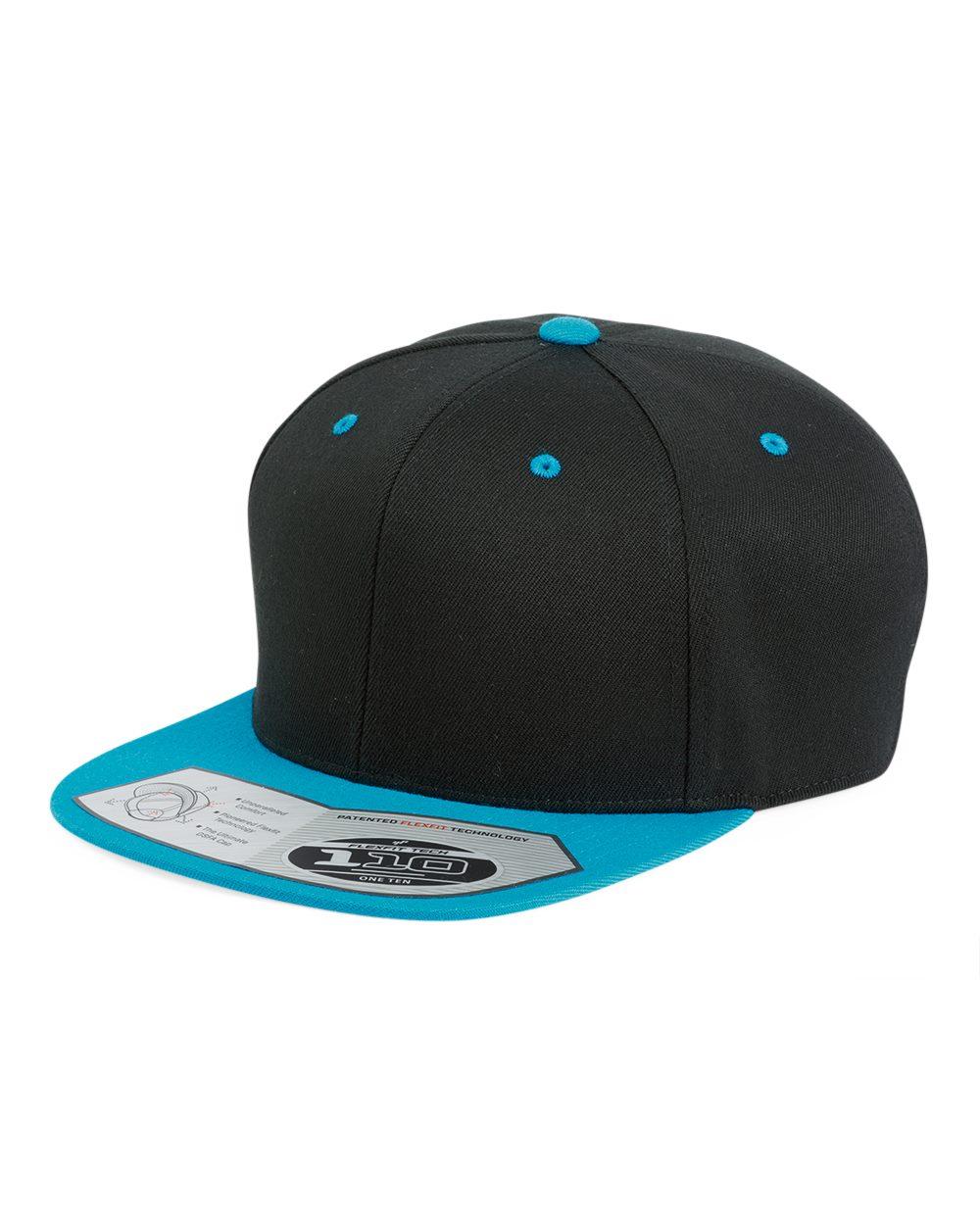 Flexfit 110F - Flat Bill Snapback Cap