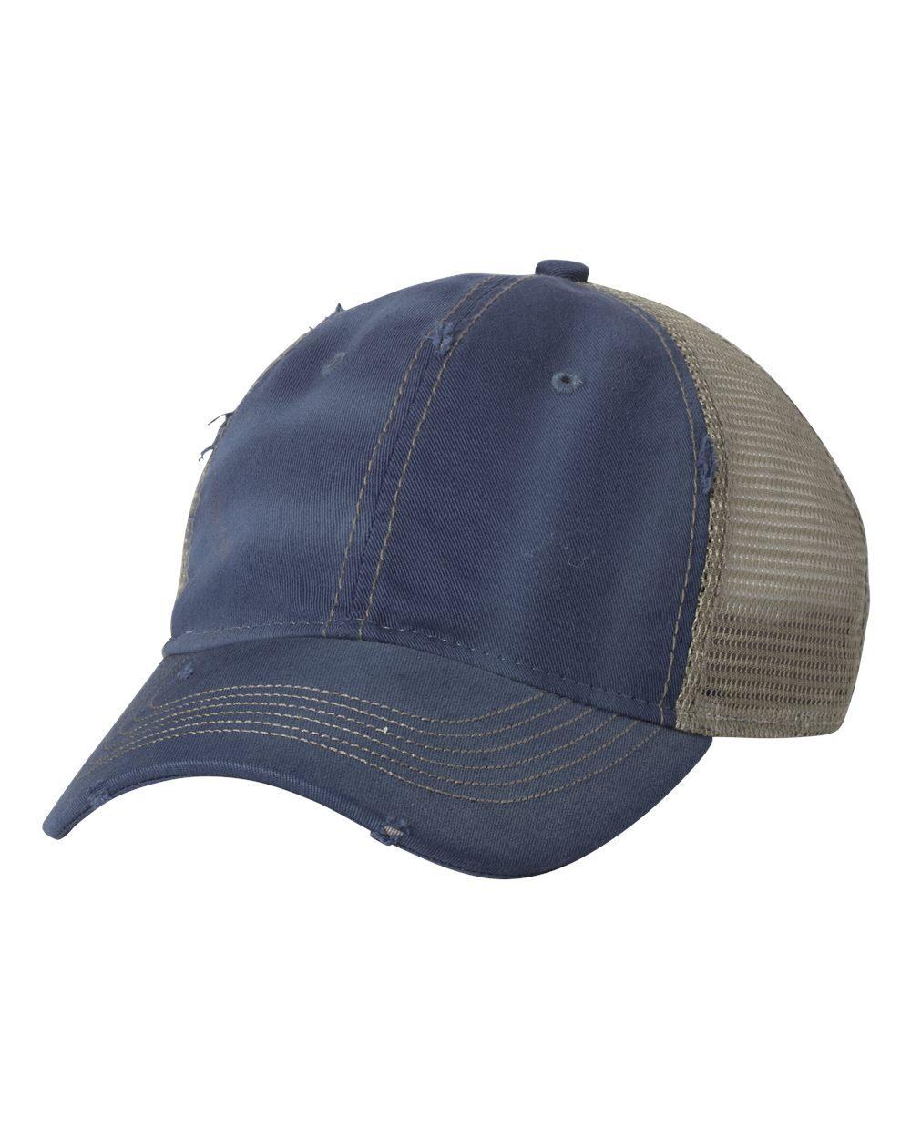 Sportsman 3150 - Bounty Dirty-Washed Mesh Back Trucker Cap