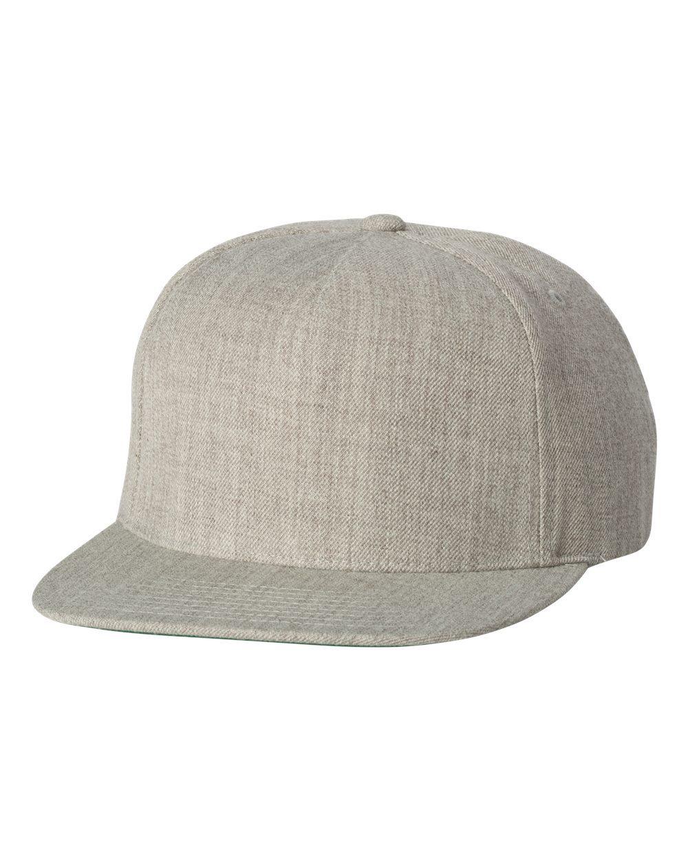 YP Classics 5089M - Wool Blend Snapback Cap