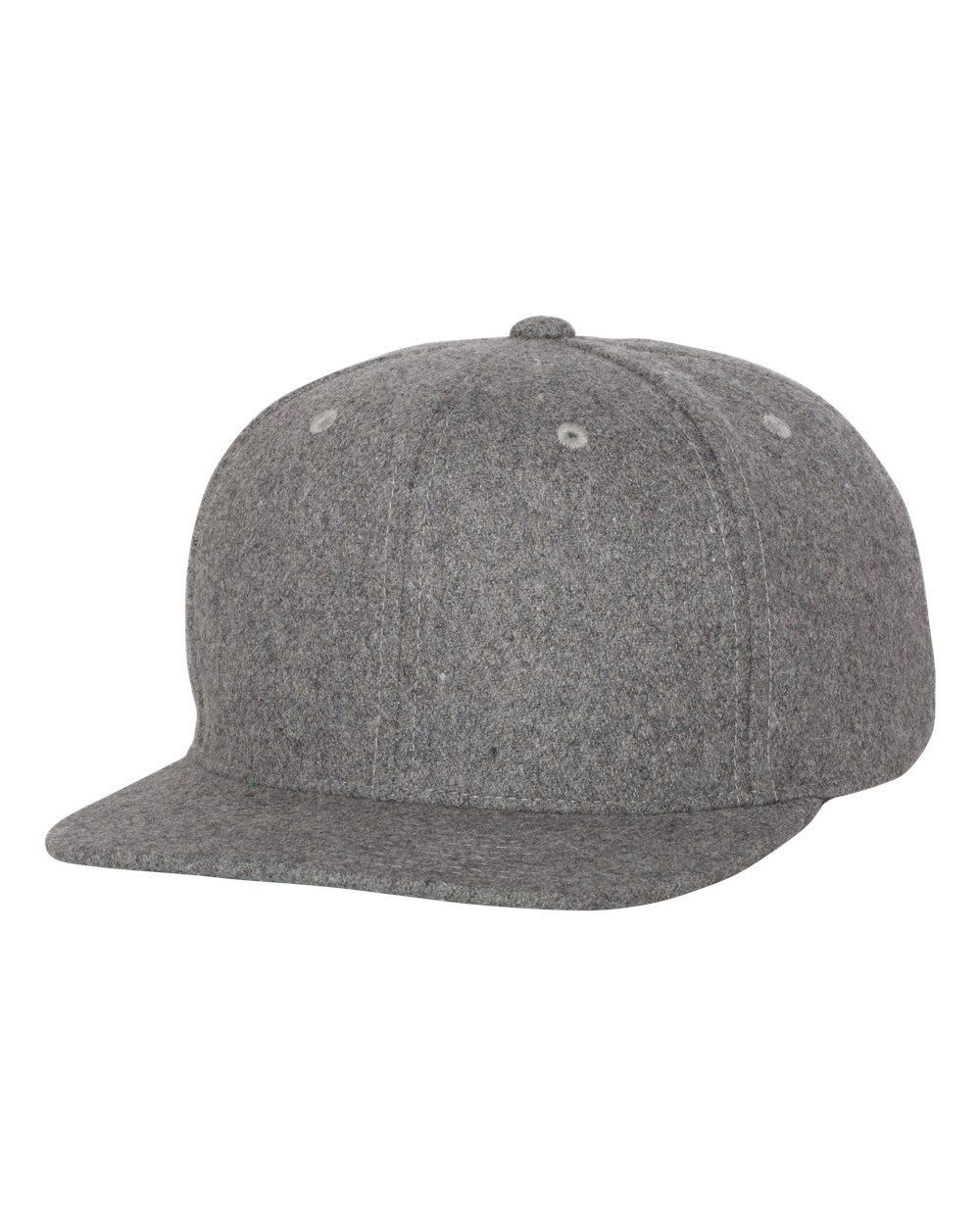 YP Classics 6689 - Melton Wool Blend Snapback Cap