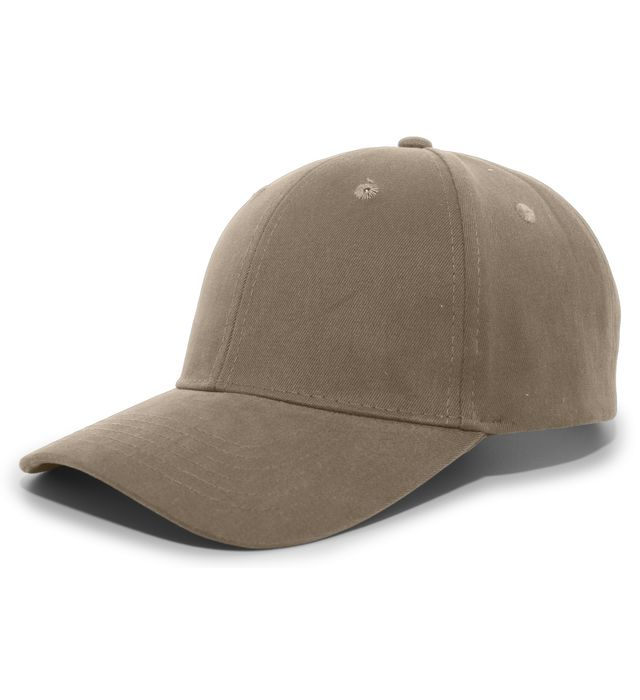 Pacific Headwear 101C - Brushed Cotton Twill Hook-And-Loop Adjustable Cap
