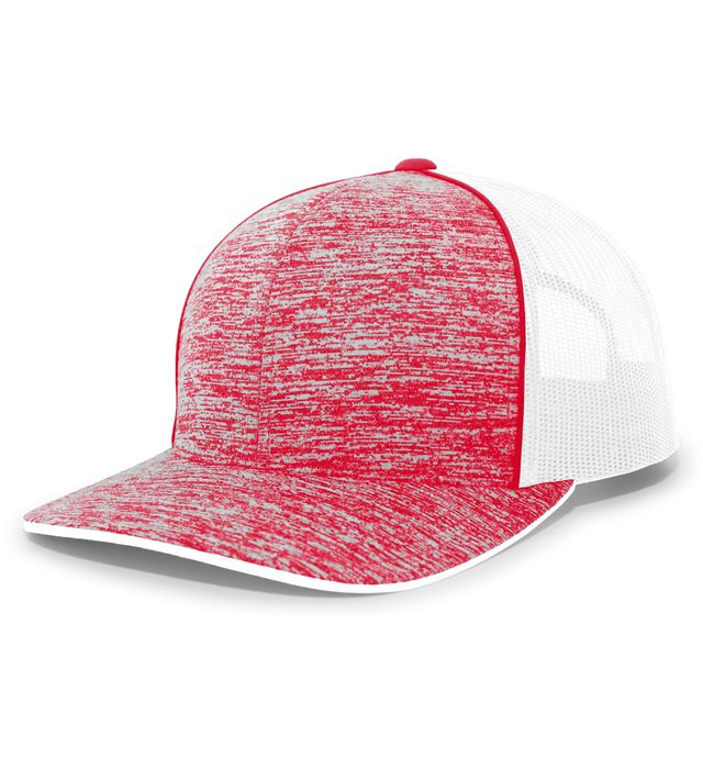 Pacific Headwear 106C - Aggressive Heather Trucker Snapback Cap
