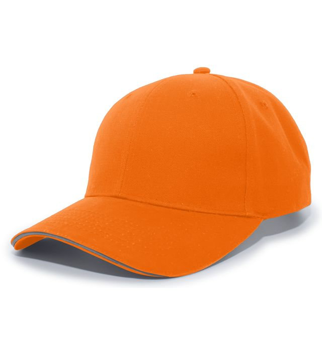 Pacific Headwear 148C - High-Visibility Hook And Look Adjustable Cap