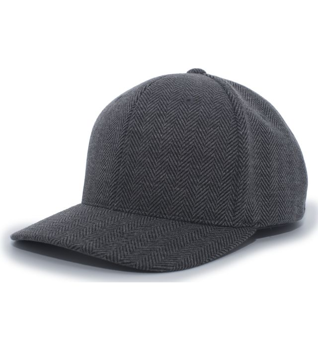 Pacific Headwear 289F - Herringbone Poly/Rayon Flexfit Cap
