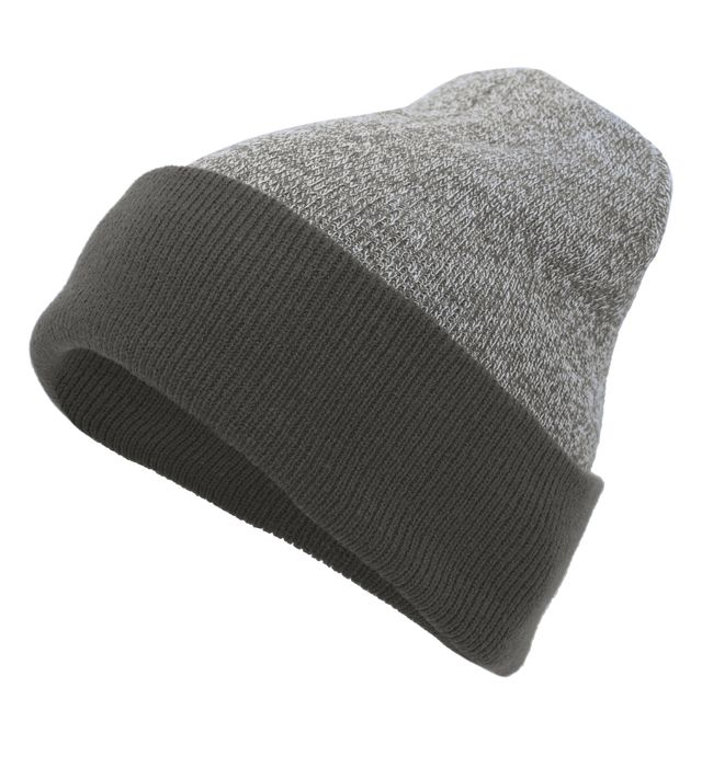Pacific Headwear 651K - Heather Two-Tone Cuff Beanie