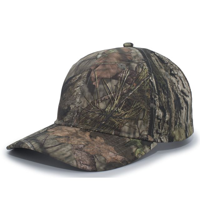 Pacific Headwear 690C - STRUCTURED CAMO HOOK-AND-LOOP ADJUSTABLE CAP