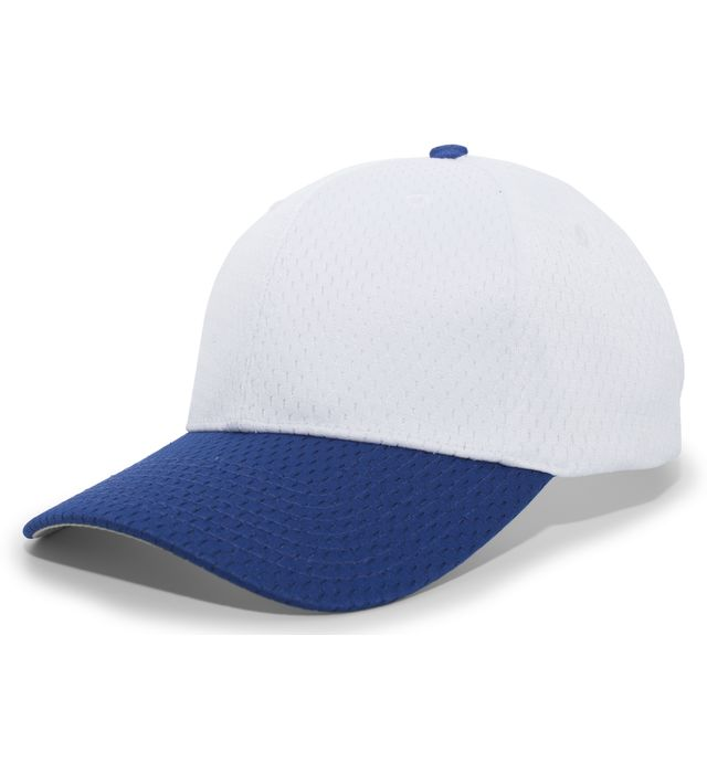 Pacific Headwear 805M - COOLPORT™ MESH HOOK-AND-LOOP ADJUSTABLE CAP