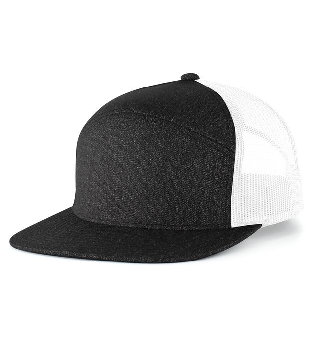 Pacific Headwear P710 - 6-Panel Arch Trucker Cap