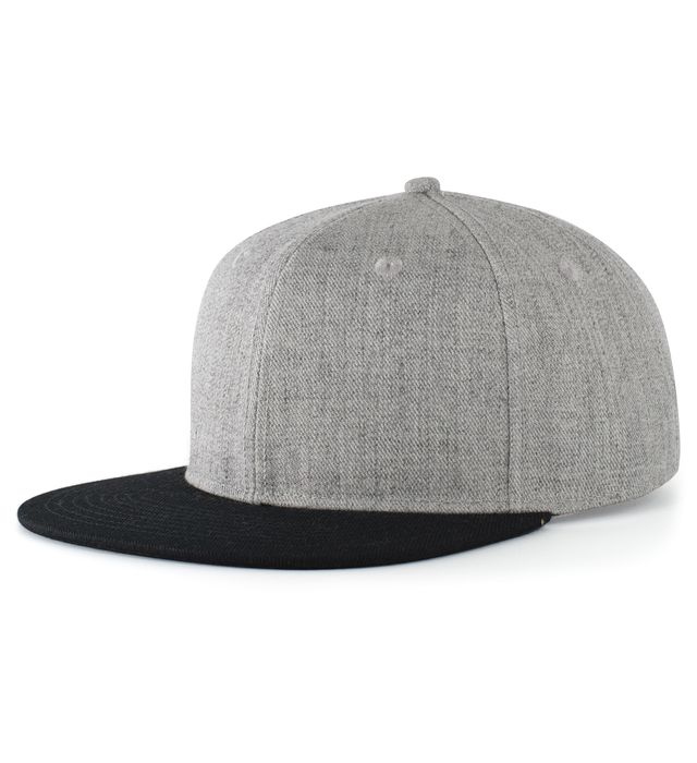 Pacific Headwear P750 - Wool Blend Heather Snapback Cap