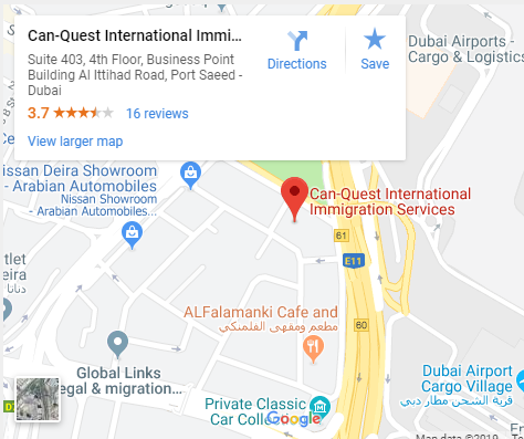 Can Quest Dubai Map