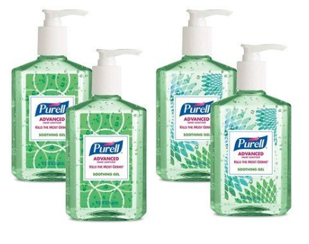 Purell Hand Sanitizers