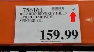 Costco Price Tag