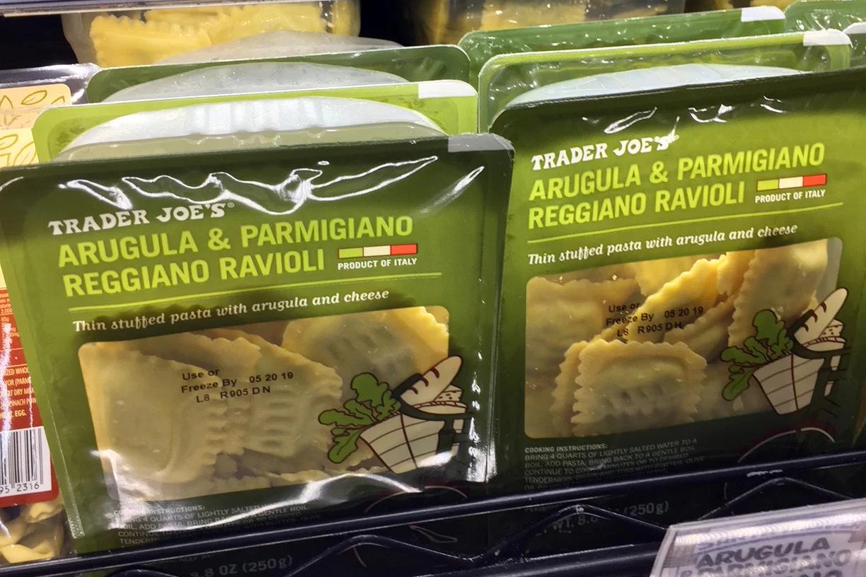 Argula & Parmesan Ravioli