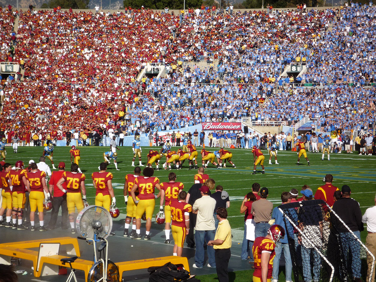 USC vs. UCLA Football Game