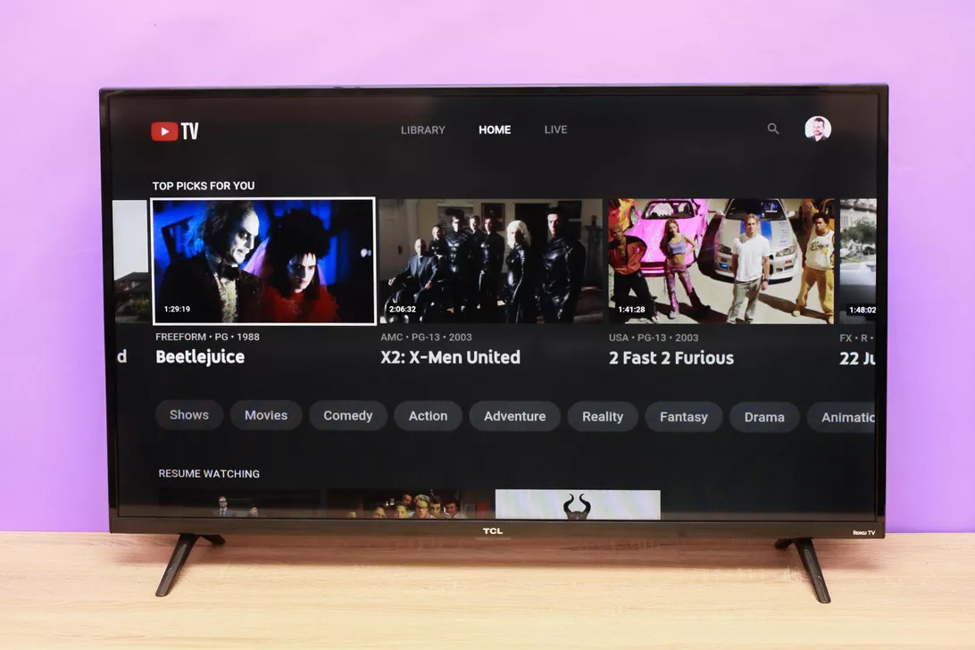 YouTube TV Subscription