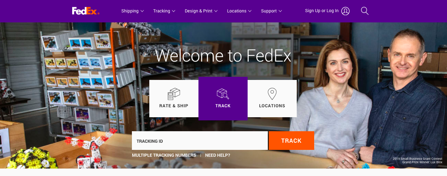 Fedex Official Website