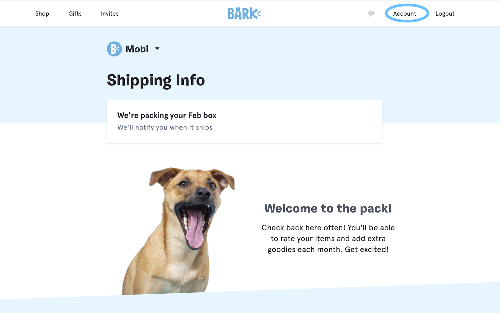 Cancel BarkBox Subscription Step 2.2