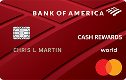 BoA Cash Reward Credit Card