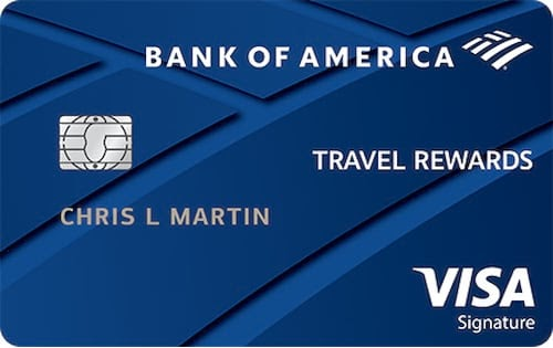 BoA Travel Rewards Credit Card