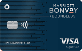 Chase Marriott Bonvoy Boundless Credit Card