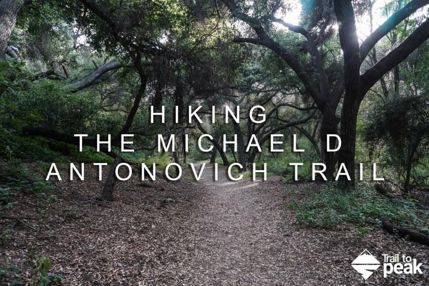 Michael D. Antonovich Trail