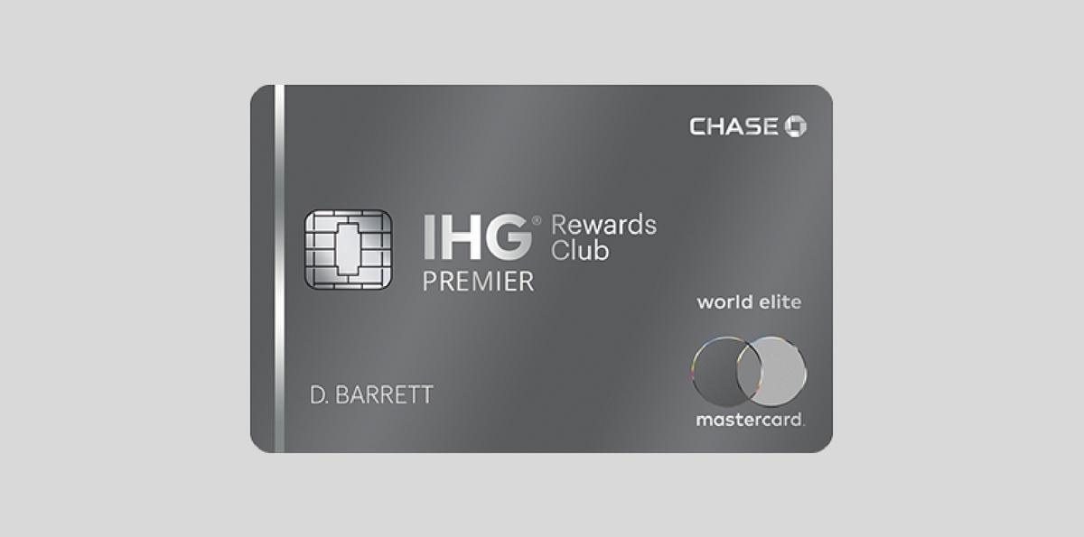 Chase IHG Premier洲际酒店信用卡