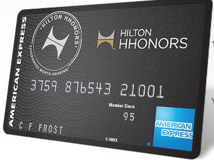 AmEx Hilton Surpass希尔顿酒店信用卡