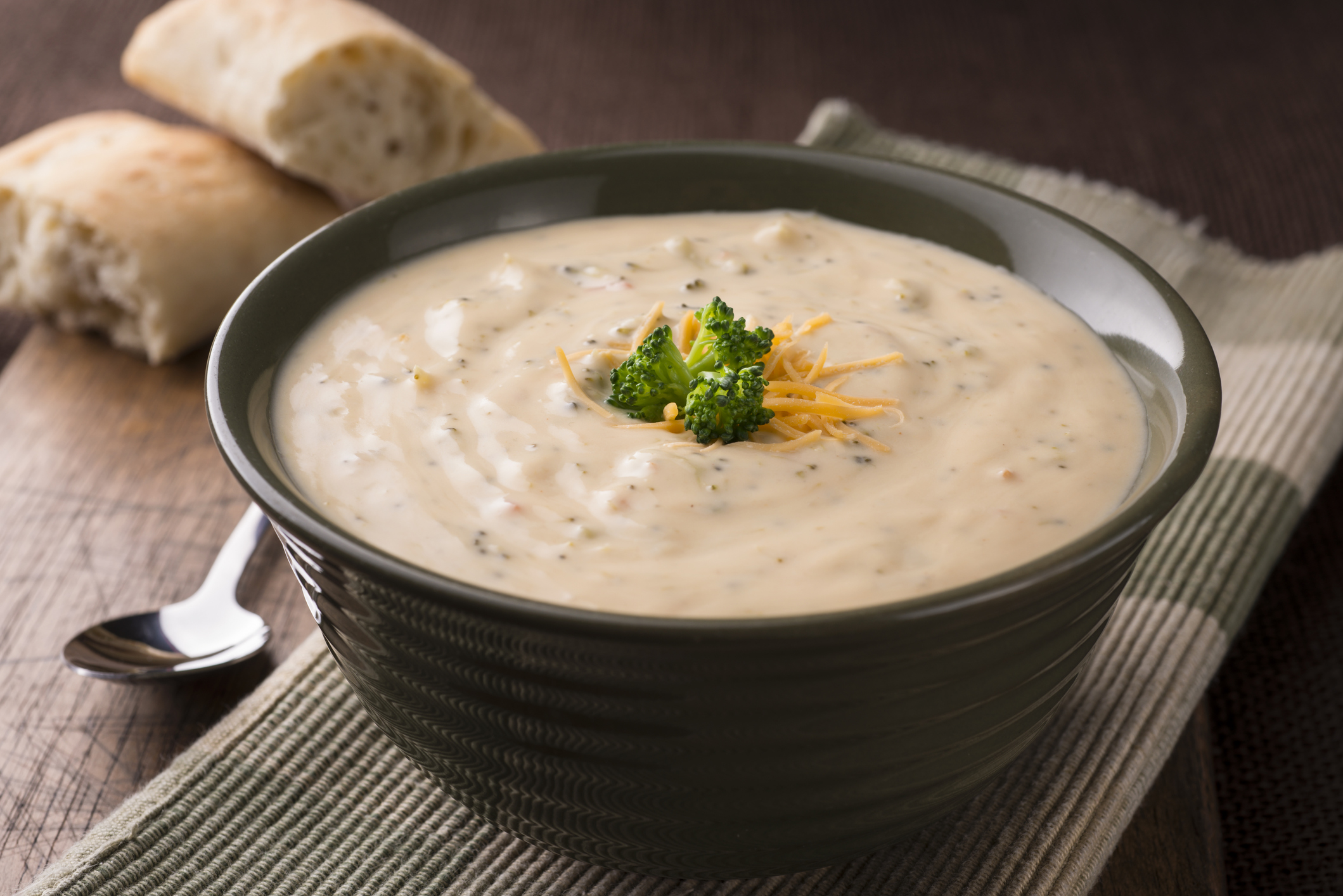 Broccoli & Cheese Soup