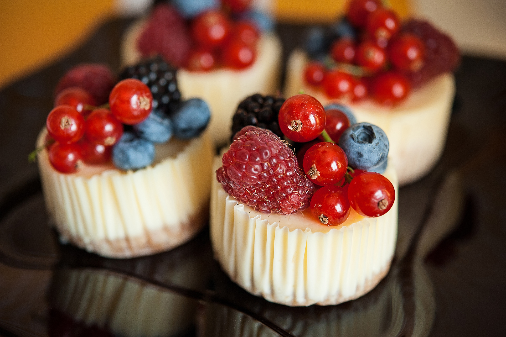 Mini Philly Cheesecakes
