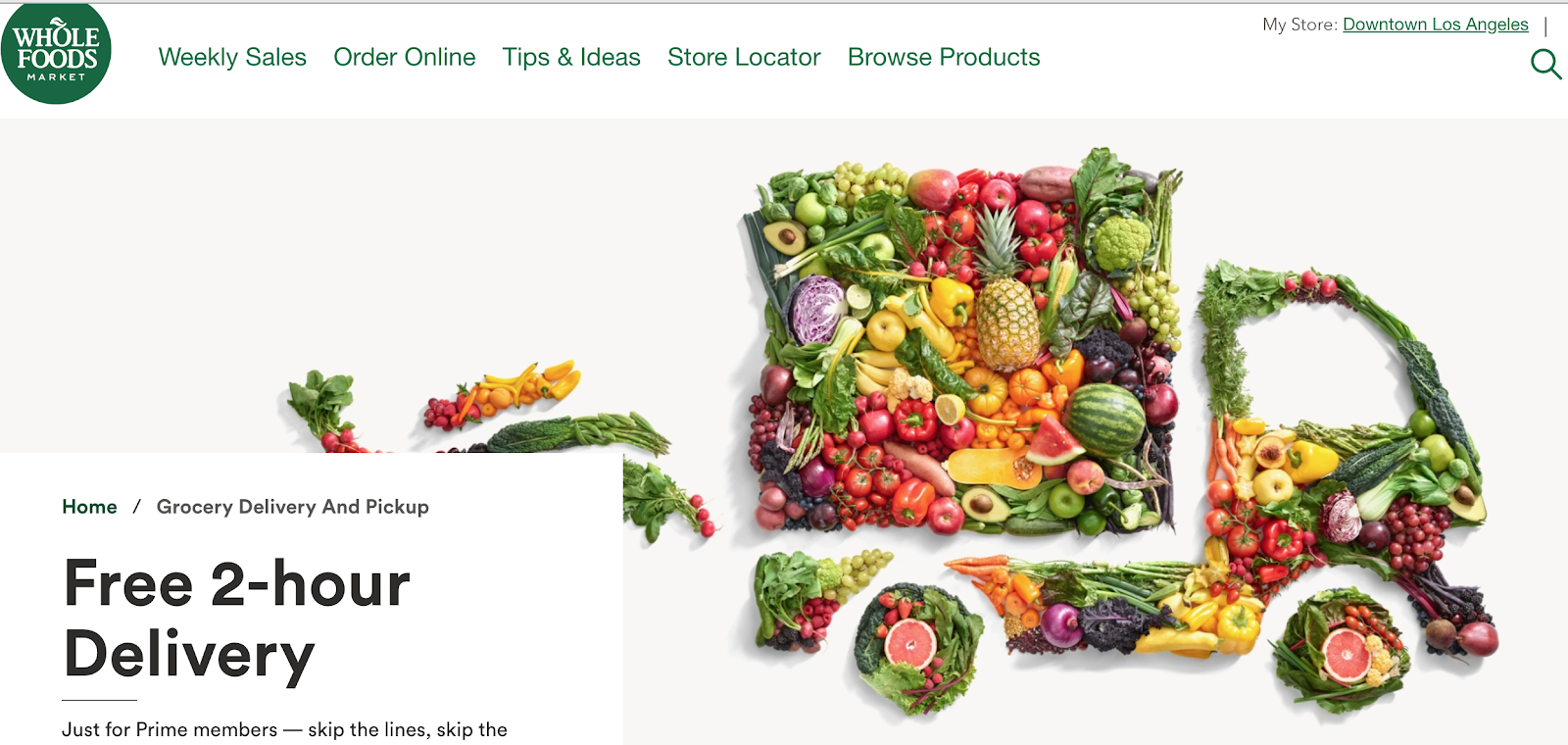 Whole Foods Delivery