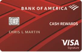 Bank of American Cash Reward Credit Card