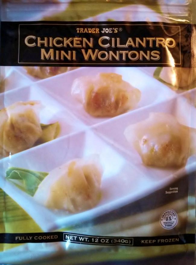 鸡肉香菜小馄饨 | Trader Joe's