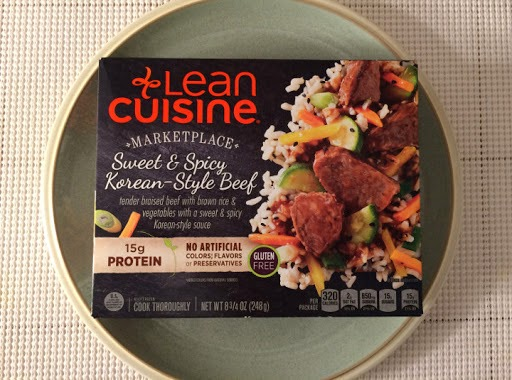 Korean Sweet and Spicy Beef Rice | Lean Cuisine