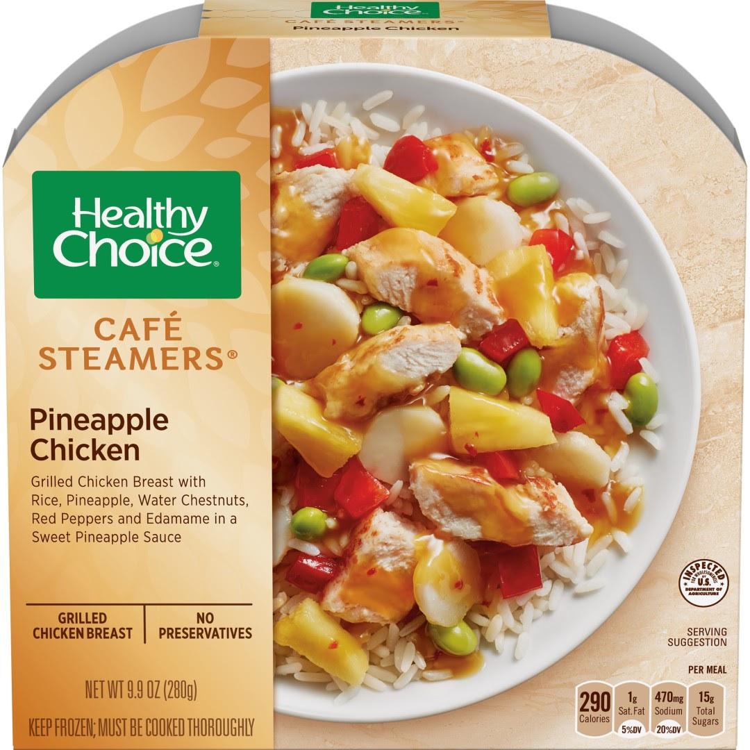 菠萝鸡肉饭 | Healthy Choice