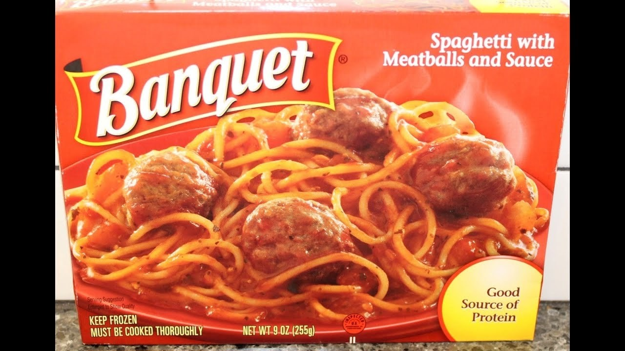 Spaghetti With Meatballs and Sauce | Banquet