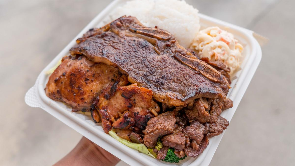 Ono Hawaiian BBQ 烤肉盖饭