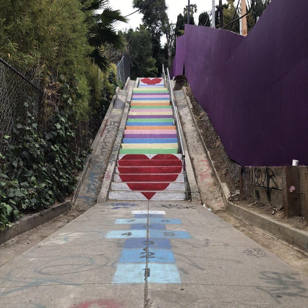 Micheltorena Stairs 爱心阶梯