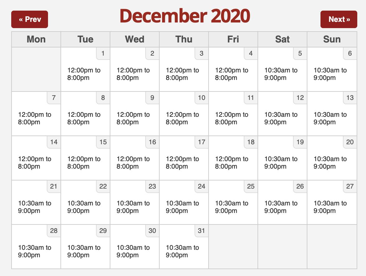 Six Flags 2020.12