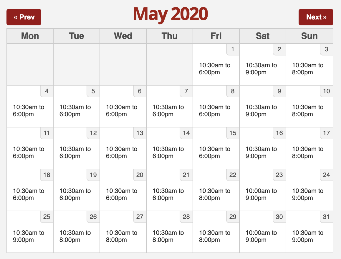 Six Flags 2020.5