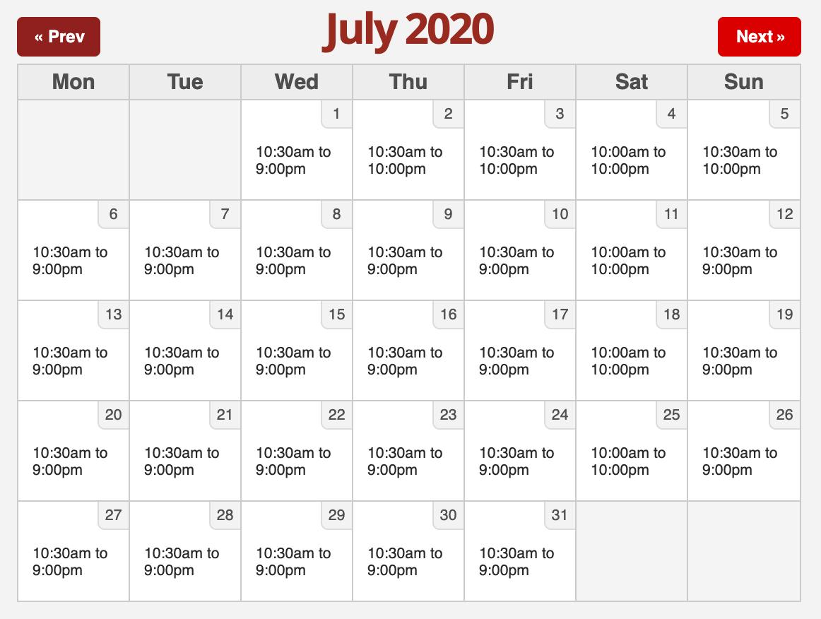 Six Flags 2020.7