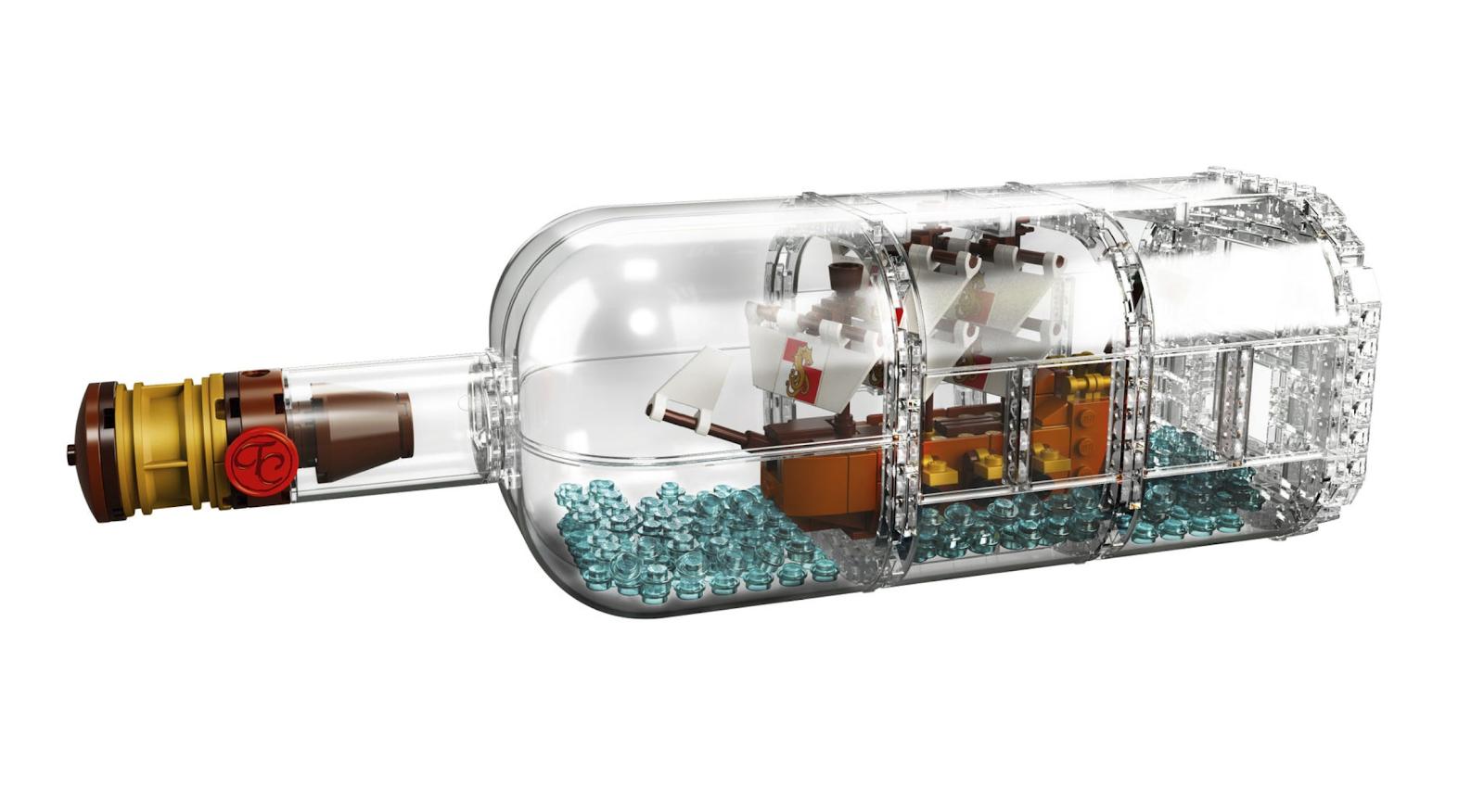 瓶中船 Ship in the Bottle(21313)
