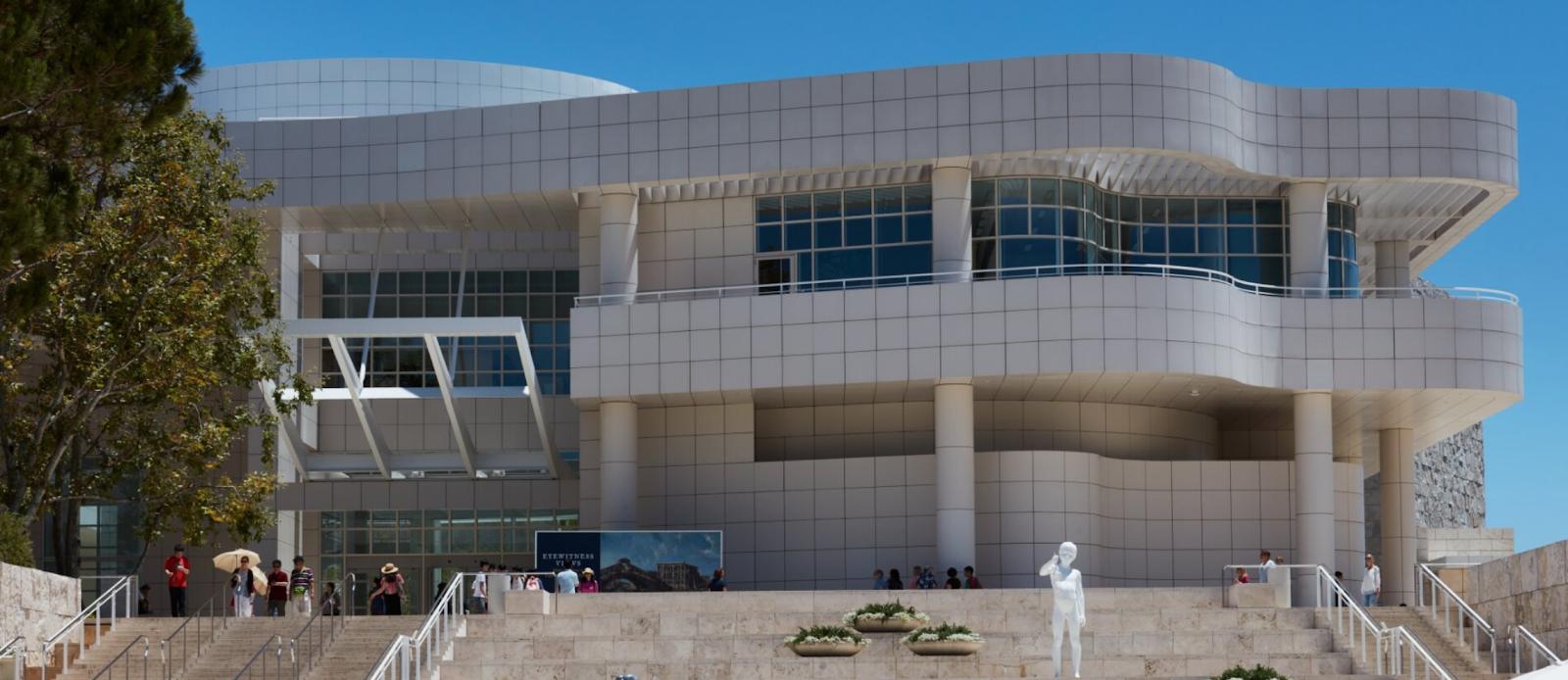 The J. Paul Getty Museum 洛杉矶盖蒂博物馆