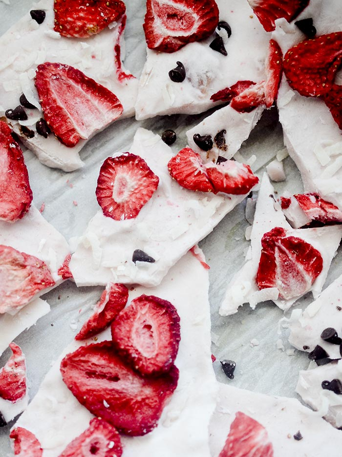 Freeze Dried Strawberry Chips
