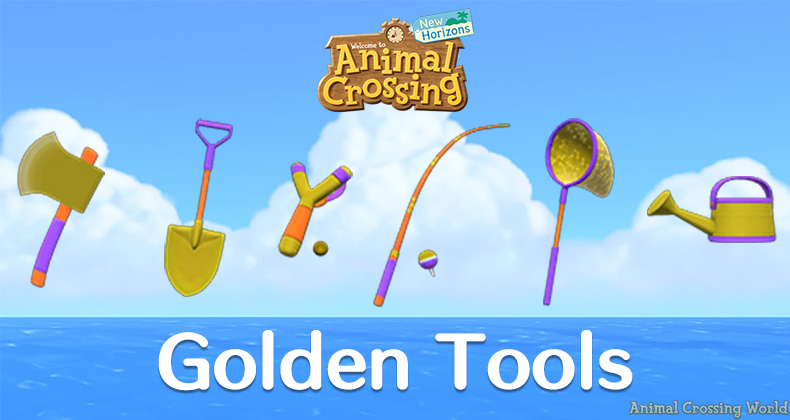 Animal Crossing Golden Tools