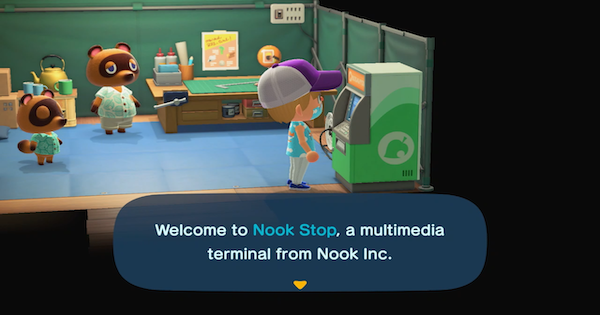 Animal Crossing Nook ATM