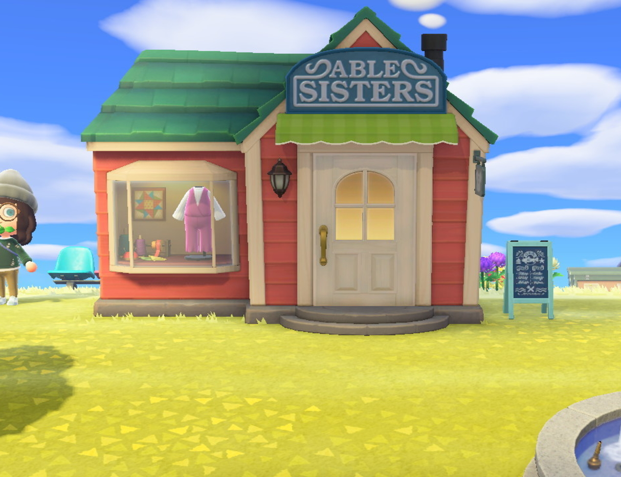Animal Crossing Able Sisters