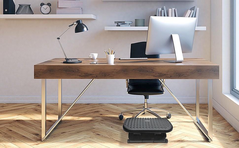 HUANUO Adjustable Under Desk Footrest 脚底拉筋板