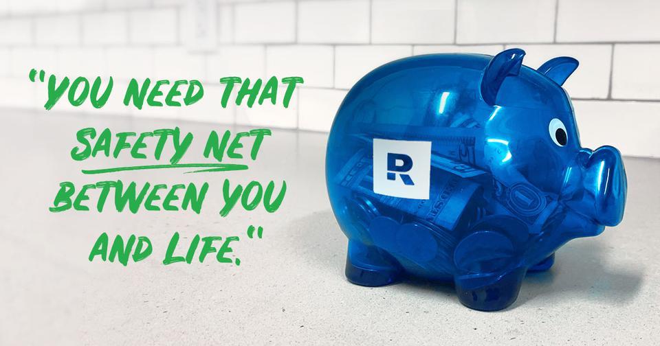 建立应急储蓄
