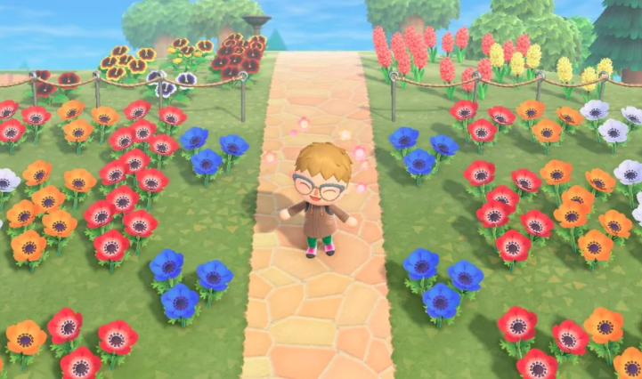Flowers and Trees in Animal Crossing