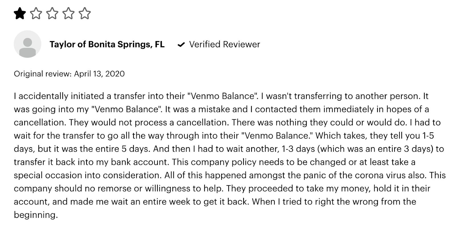 venmo review